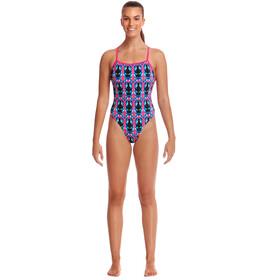 Funkita Plus Twisted Traje de baño de una pieza Mujer, Multicolor